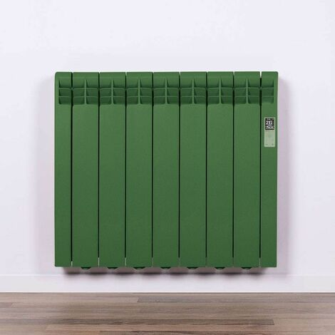 Radiador Eléctrico Rointe Serie D RAL 6035 PEARL GREEN Texturizado