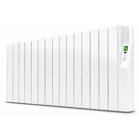 Radiador electrico Rointe serie SYGMA blanco 15 modulos 1600w