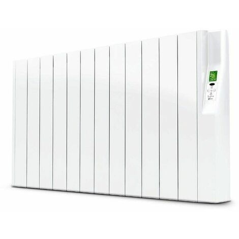 Radiador electrico Rointe SRN1600RAD2 serie SYGMA blanco 15 modulos 1600w