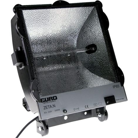 Radiador halógeno de obra PROFI, 2000W IP65