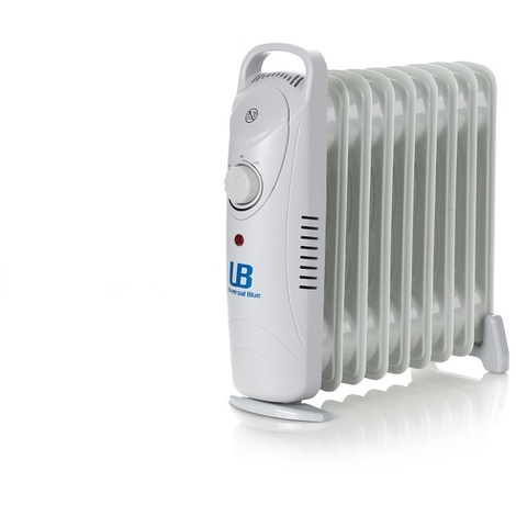 Radiador mini de 1000W con 9 elementos calefactores UNIVERSAL BLUE URAM1000-17