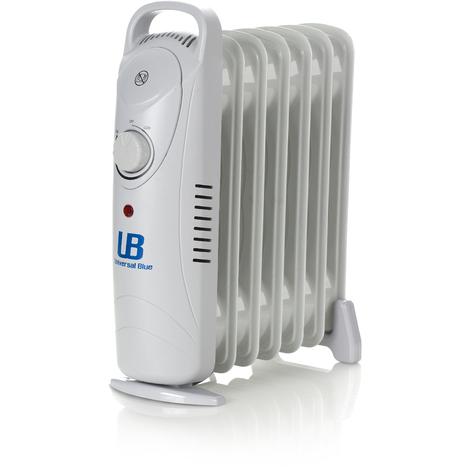 Radiador mini de 600W con 7 elementos calefactores UNIVERSAL BLUE URAM600-16