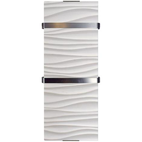 Radiador secatoallas de 1200 W modelo Ondulado