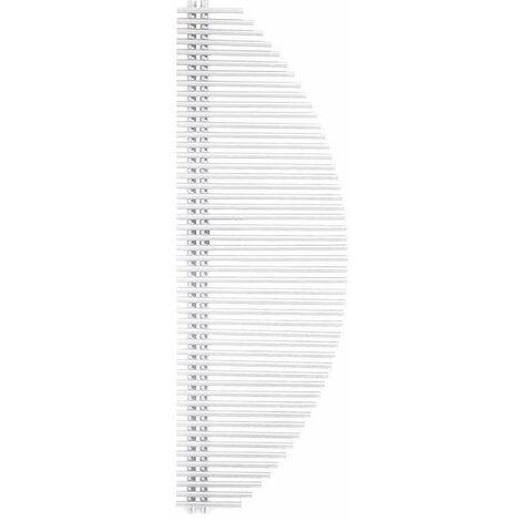 Radiador toallero blanco calentado Ercos Vela | Blanco