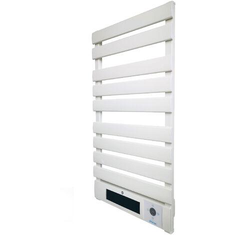 Radiador toallero de aluminio 2000 W con calefactor cerámico
