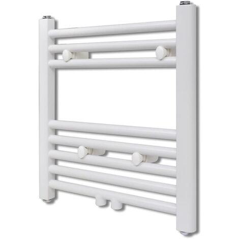Radiador toallero de baño recto 480 x 480 mm
