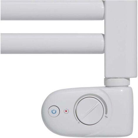 Radiador Toallero Eléctrico Fluido Blanco Electrónico 850w