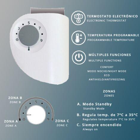 Radiador Toallero Electrico IBIZA