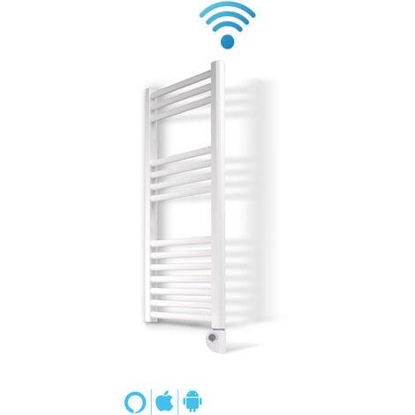 Radiador Toallero Electrico IBIZA Blanco · WIFI · Termostato Digital