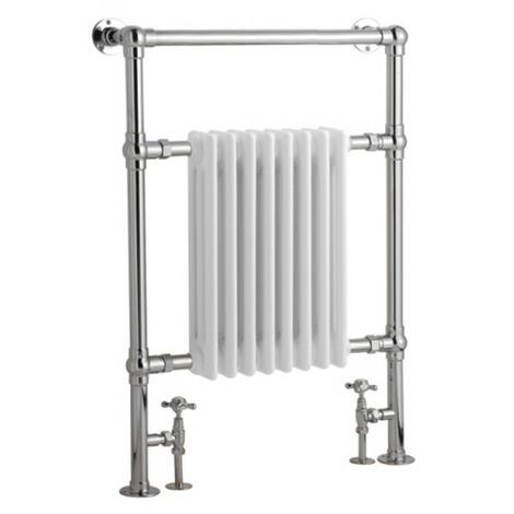 Radiador Toallero Tradicional - Blanco - 930mm x 620mm x 119mm - 683 Vatios - Marquesa
