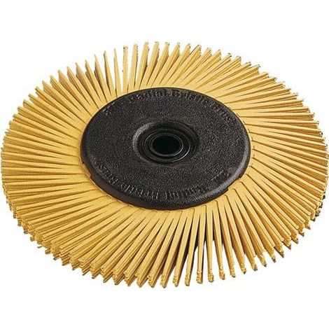 Radial Bristle Brush type A 150x12mm P80 jaune 3M 1 PCS