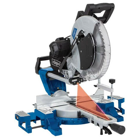Radial mitre saw SCHEPPACH 305 mm 2000W - HM140L