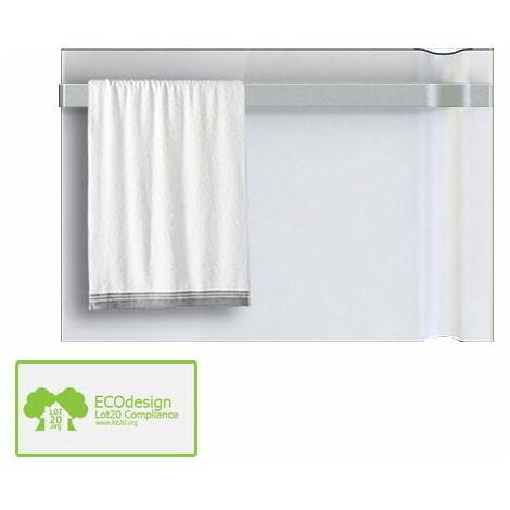 Radialight Klima Designer Electric Bathroom Heater + Towel Bar / Infrared Convector Radiator, 750W