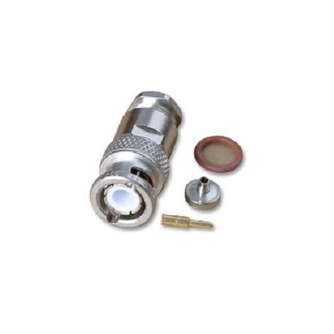 Radiall R141018 Plug BNC 50ohms male to welding 10mm