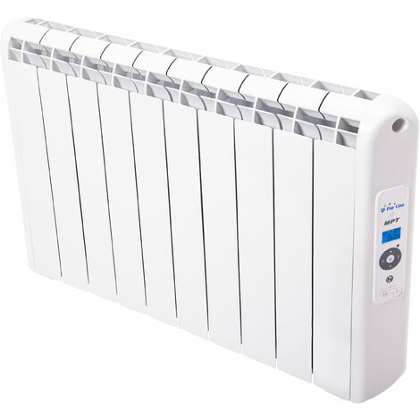 Radiateur 2000 watts à chaleur douce programmable avec télécommande
