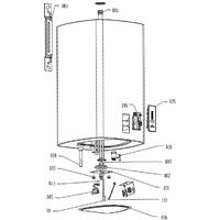 Radiateur 2000W/230V convient pour Ballon EVENES OTGS30SM jusqu'a 100 litre