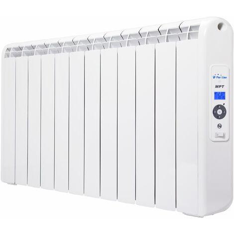 Radiateur 2400 watts à chaleur douce programmable avec télécommande
