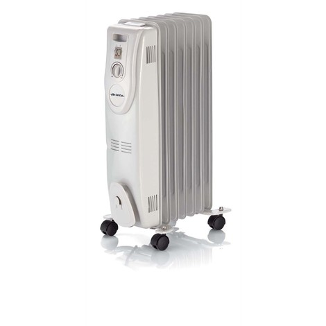 radiateur à bain d'huile 1500w blanc - 0833 - ariete