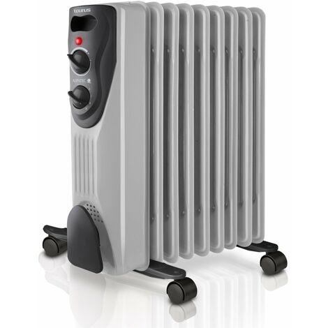 radiateur à bain d'huile 1500w gris - Dakar 1500 - taurus alpatec