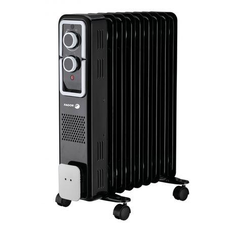 radiateur à bain d'huile 2000w noir - fg600 - fagor