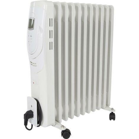 Radiateur à bain dhuile Basetech VE89122NEF VE89122NEF 2500 W 1 pc(s)