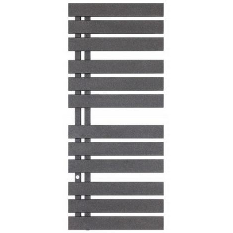Radiateur à eau chaude, Sèche serviette Nameless anthracite 600x930mm