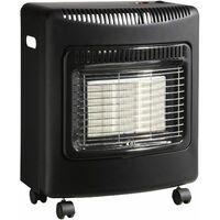 radiateur à gaz infrarouge 4200w noir - 863.1112 - favex