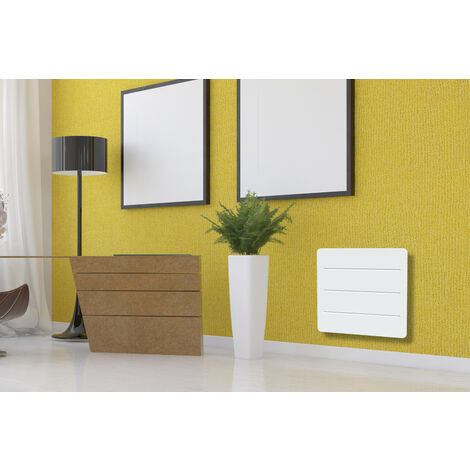 radiateur inertie ceramique film 1000w horizontal et. Black Bedroom Furniture Sets. Home Design Ideas