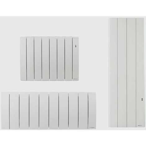 Radiateur électrique à inertie BILBAO 3 - Horizontal - Puissance : 750 W - L : 670 x H : 590 x E 130 mm