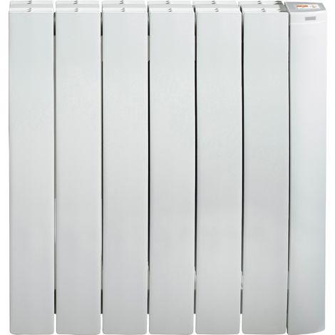 Radiateur à inertie fluide Galbéo R-Control Supra - 1000 W - Blanc
