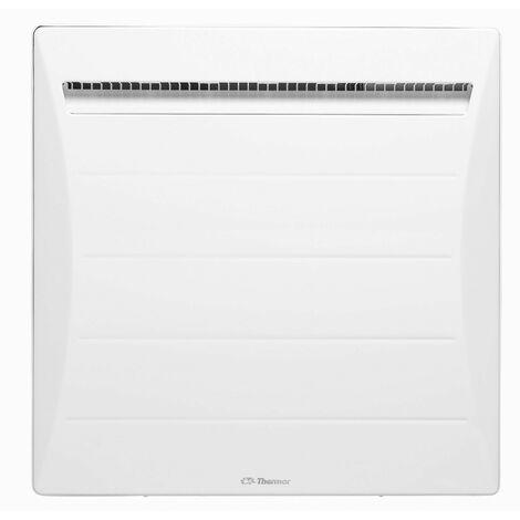 Radiateur à inertie mozart digital horizontal blanc