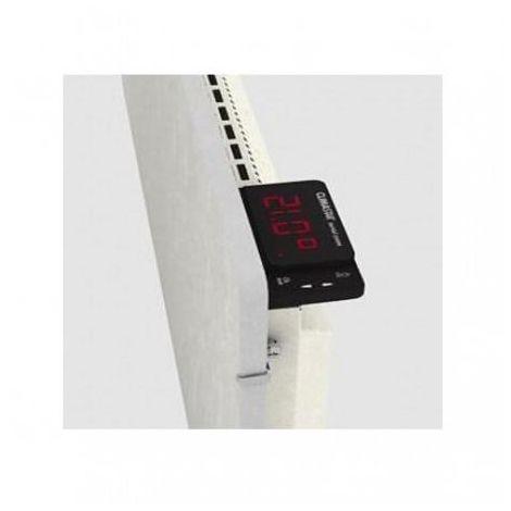 Radiateur à inertie TACTILO Carré Sable Blanc 800W - Valderoma SB0800A