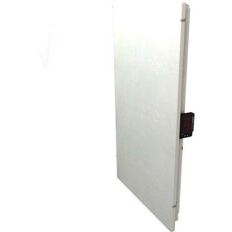 Radiateur à inertie TACTILO Vertical Sable Blanc 1000W - Valderoma SB10VEA