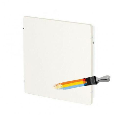 Radiateur à inertie Wifi Blanc Liberty 1000W Carré - Valderoma BL1000W