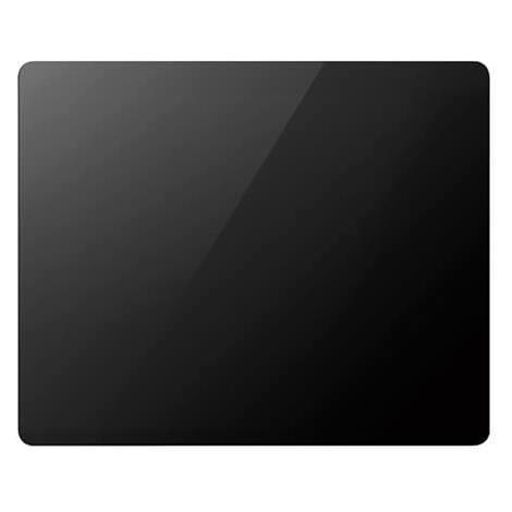 Radiateur à panneau rayonnant verre noir - 1000 W - environs 15 m²