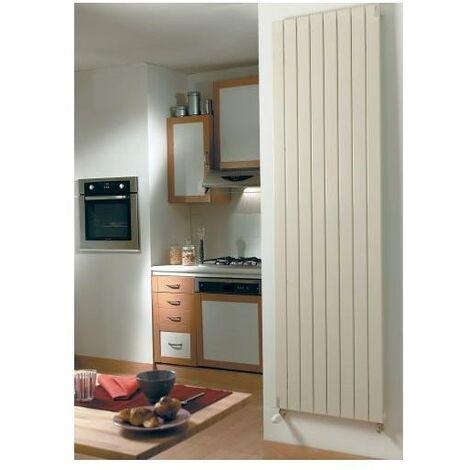Radiateur ACOVA Fassane Prem's Eau Chaude vertical - Vertical simple - Puissance 1240W - H: 2000 - L: 592 - Blanc