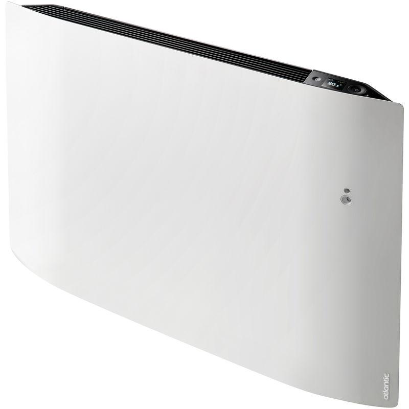 Radiateur Connecte Divali Pilotage Intelligent Connecte Horizontal 1000w Blanc Carat 507609