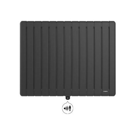 Radiateur ALTEA 3.0 Gris Anthracite 1500W Horizontal CAMPA - ALTD15HANTH