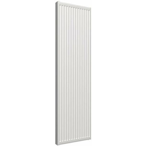 Radiateur Altech vertical 6 connexions type 22 hauteur 2000mm largeur 600mm 2574 watts ALTECH