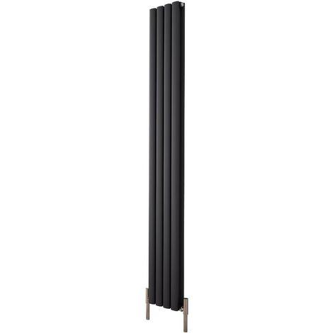 Radiateur Aluminium Design Anthracite - 2004 watts 180 x 47cm Vitality Air