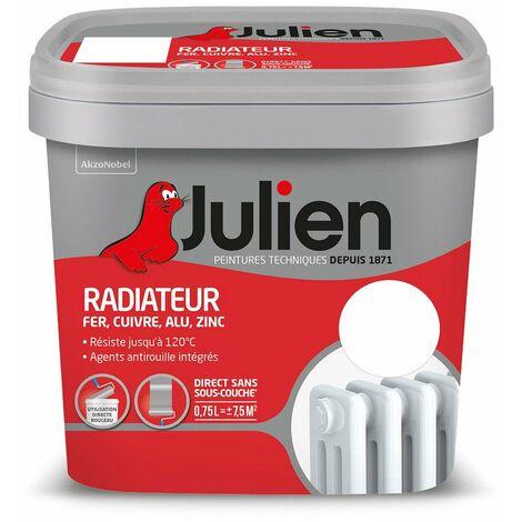 Radiateur Aque Brillant Blanc 0l75 - JULIEN