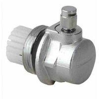 """Radiateur auto purgeur automatique 1 """"valve gauche fil (g1 pouces) de coupure"""