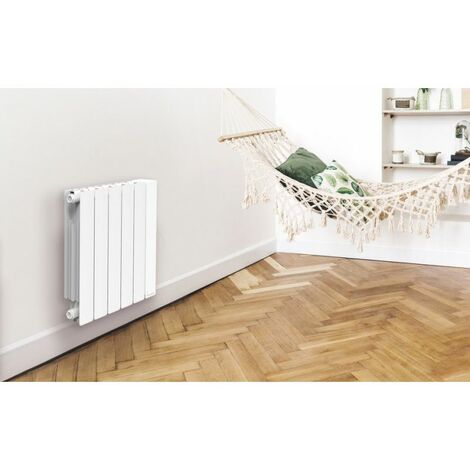 Radiateur Axane HORIZONTAL - 1500W - BLANC - NOIROT - Blanc - Blanc