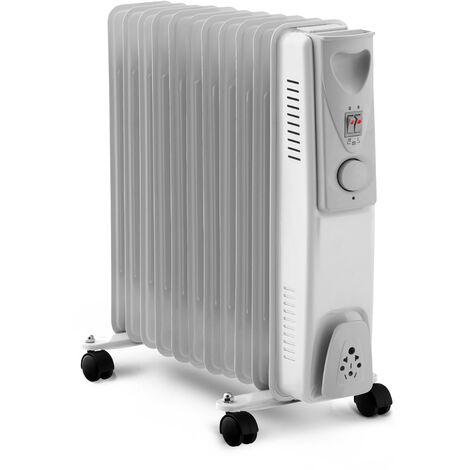 Radiateur bain d'huile 2500W - 11 éléments - Warmt