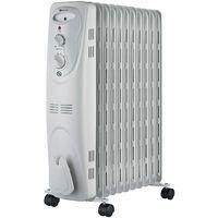 Radiateur bain d'huile 3 puissances 1000W/1300W/2300W