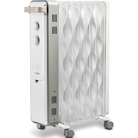 Radiateur bain d'huile Oasis 2503 Supra - 2500 W - Blanc