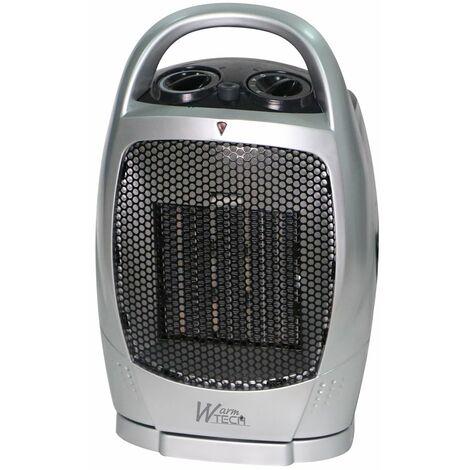 Radiateur céramique oscillant 1500W - Warm Tech
