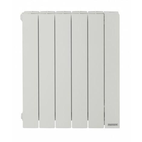 Radiateur chaleur douce Baléares 2 - Horizontal - 500W - Blanc