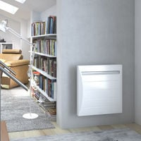 Radiateur chaleur douce Mozart Digital - Horizontal - 1000W - Blanc - Thermor Pacific