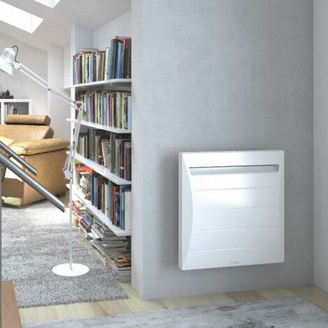 Radiateur chaleur douce Mozart Digital - Horizontal - 1500W - Blanc - Thermor Pacific